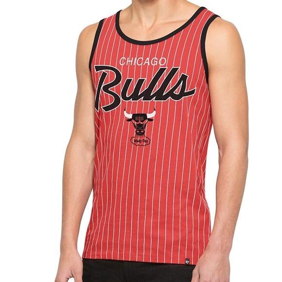 b80bd67ab55830 NBA Chicago Bulls Men s  47 Brand Tank Top NEW
